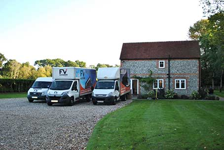our house removals vehicles