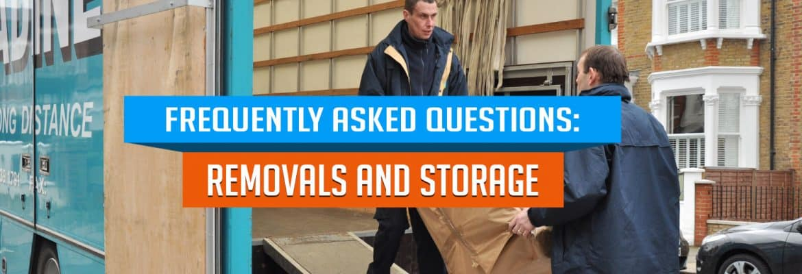 removals and storage faq
